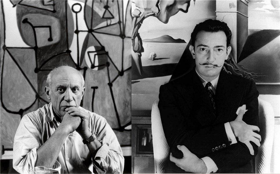 Два гения XX века – Пабло Пикассо и Сальвадор Дали