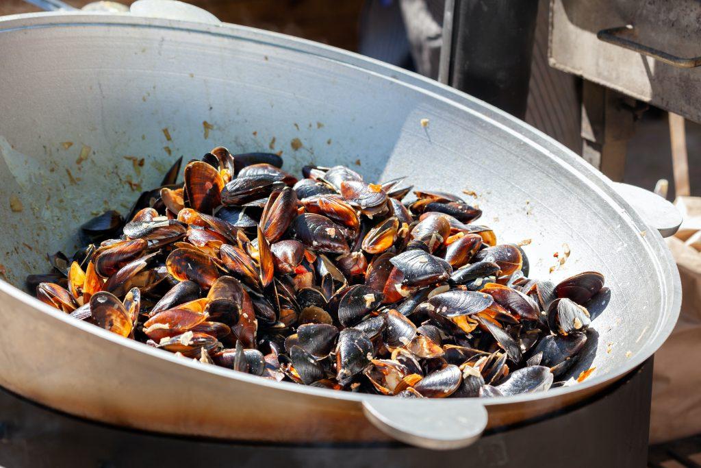 Фестиваль морепродуктов в О-Грове